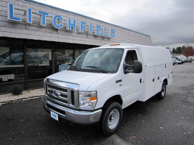2019 Ford E-350  Commercial Cutaway Cargo/Knapheide KUV129SU Body/Rear Camera/10050 GVW