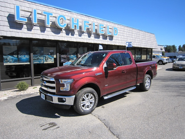 Used 2016 Ford F-150 Lariat 4X4 Super Cab/Nav/Leather/Moonroof/Tow Pkg/BLIS/SiriusXM/Sync3 For Sale Litchfield, Connecticut