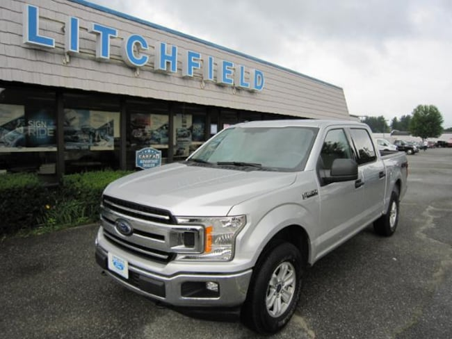 Used 2018 Ford F-150 XLT 4X4 Crew Cab/V6/Cloth/Alloys/Rear Camera/Bedliner For Sale Litchfield, Connecticut