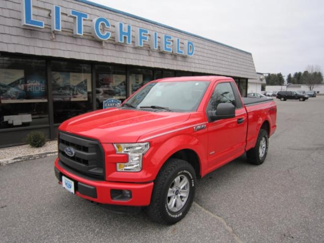 Used 2016 Ford F-150 XL Sport 4X4 Reg Cab/EcoBoost/Alloys/Cloth Bench/Sync/Box Link/Bed Cover For Sale Litchfield, Connecticut