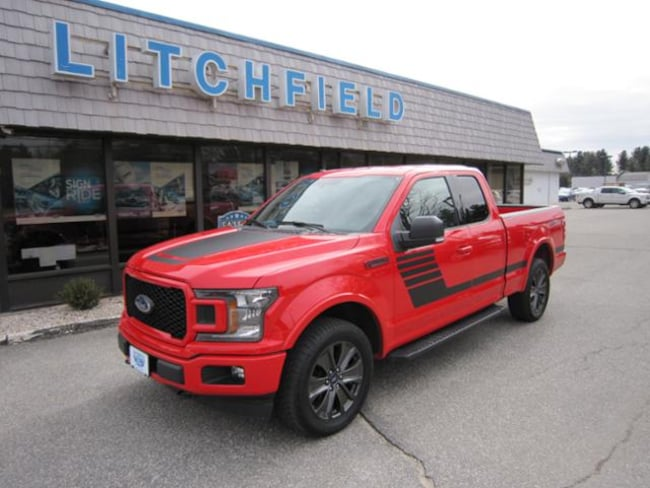 Used 2018 Ford F-150 XLT Special Edition 4X4 Super Cab/Sport/Tow Pkgs/Nav/Locking Axle/Sync3/Bucket Seats For Sale Litchfield, Connecticut