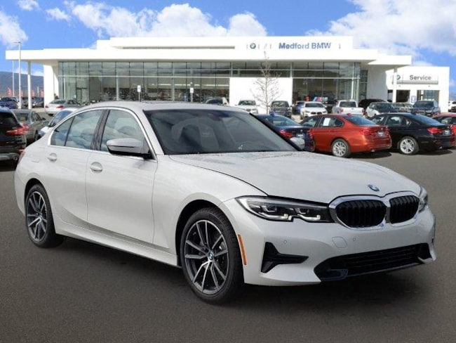 2019 Bmw 330i Sedan Xdrive Mineral White For Sale In Medford Stock