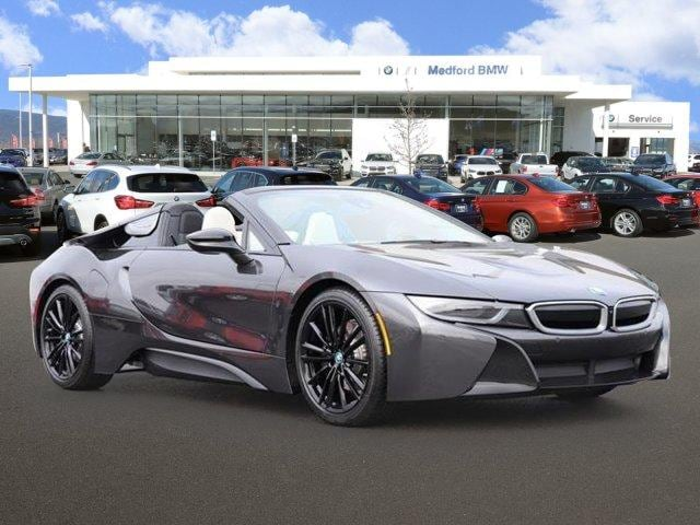 2019 BMW i8 Convertible Sophisto Gray w/Frozen Gray Accent