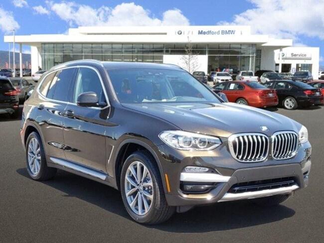 New 2019 BMW X3 xDrive30i SAV Medford, OR