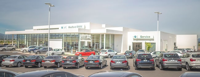 Medford BMW Showroom - 4600 Grumman Drive Medford, Oregon