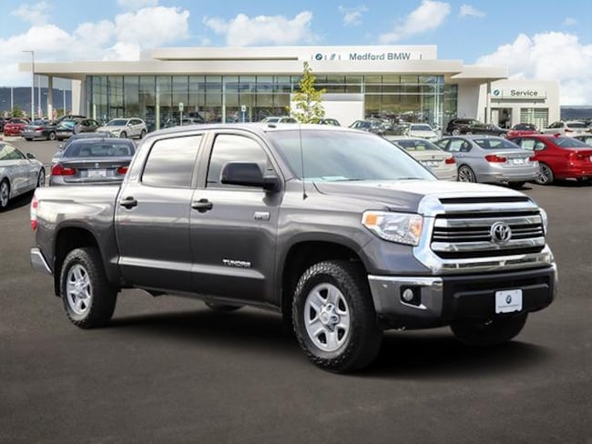 Used 2016 Toyota Tundra SR5 5.7L V8 Truck CrewMax Medford, OR