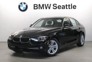 New 2018 BMW 328d Sedan Seattle, WA