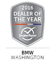 Seattle Washington BMW - 2016 Dealer of the Year - DealerRater