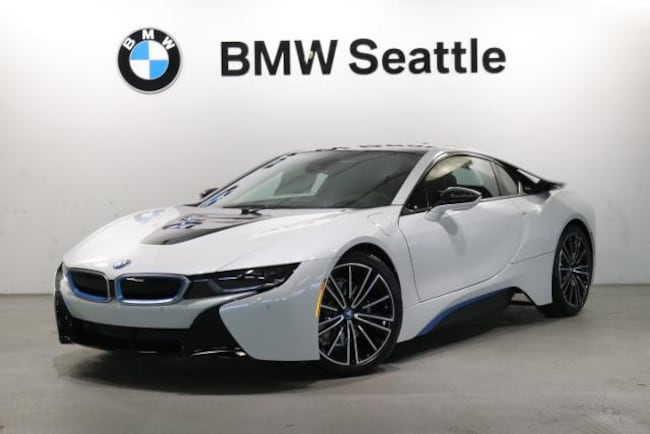 2019 Bmw I8 Coupe Crystal White W Bmw I Blue For Sale In Seattle Wa