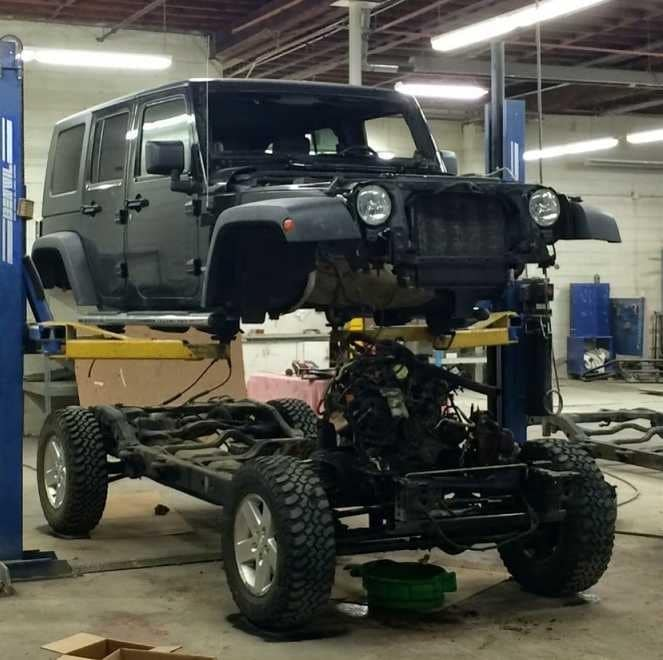 Jeep Repair - Lithia Downtown Body and Paint