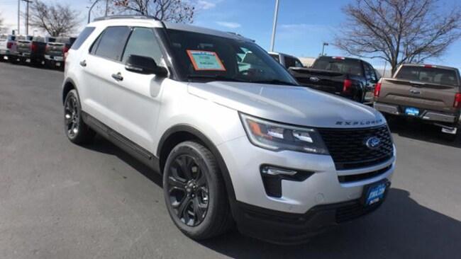 Lithia Ford Boise >> New 2019 Ford Explorer Sport Suv Ingot Silver For Sale In Boise Id