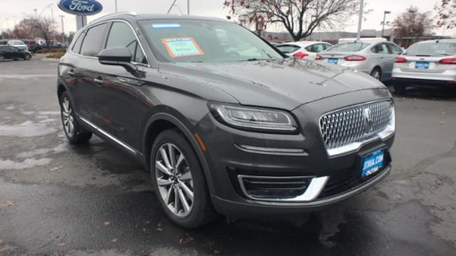 New 2019 Lincoln Nautilus Select Suv Magnetic Gray For Sale In Boise
