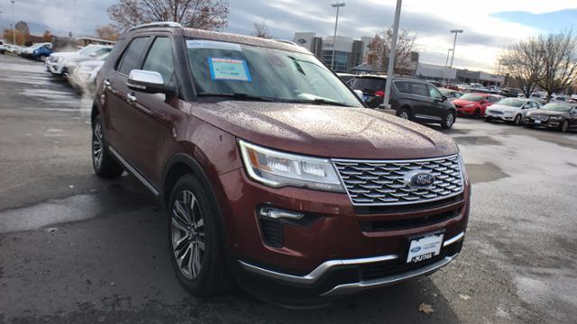 Used 2018 Ford Explorer Platinum SUV Boise, ID