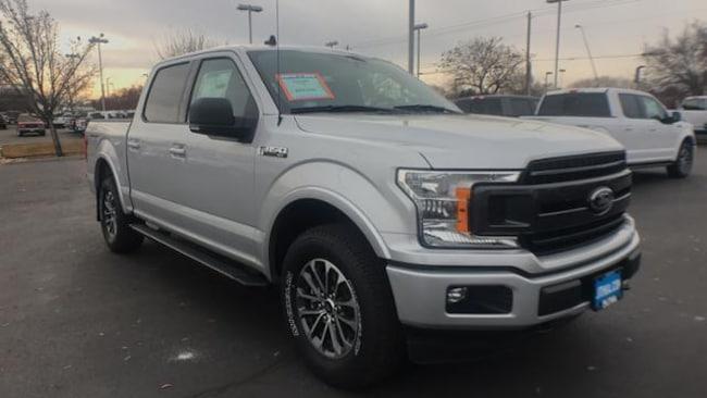 Lithia Ford Boise >> New 2019 Ford F-150 XLT Truck SuperCrew Cab Ingot Silver ...
