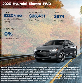 2020 Hyundai Elantra FWD