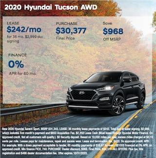 2020 Hyundai Tucson AWD