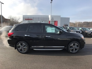 New 2020 Nissan Pathfinder Platinum SUV Yorkville, NY