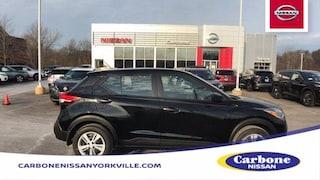 New 2020 Nissan Kicks S SUV Yorkville, NY