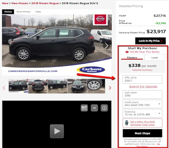 Save Time Buy Your Nissan Online At Carbone Nissan