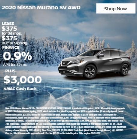 2020 Nissan Murano SV AWD