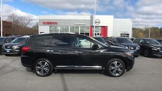 Used 2020 Nissan Pathfinder Platinum SUV Yorkville, NY