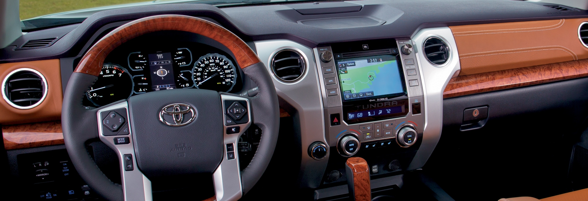 Toyota Tundra Interior Vehicle Features
