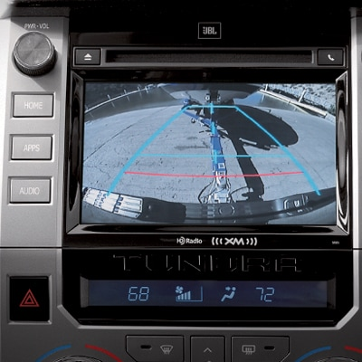 Toyota Tundra Blind-Spot Monitoring