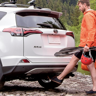 Toyota av4 Foot Activated Liftgate