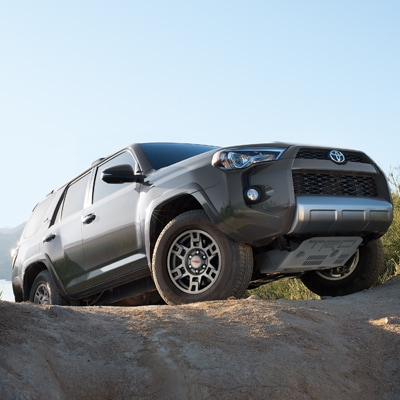 Toyota 4Runner Off Roading in Mud