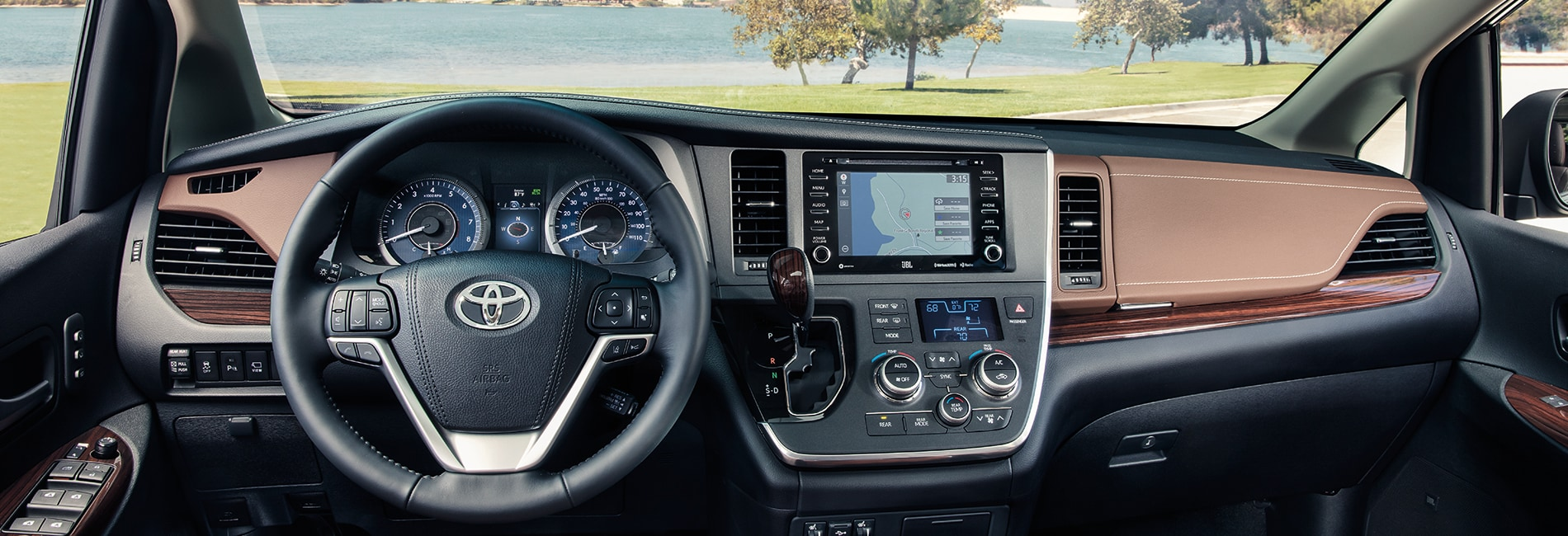 Toyota Sienna Interior Vehicle Features