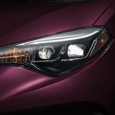 Toyota Corolla Standard Bi-LED Headlights Options