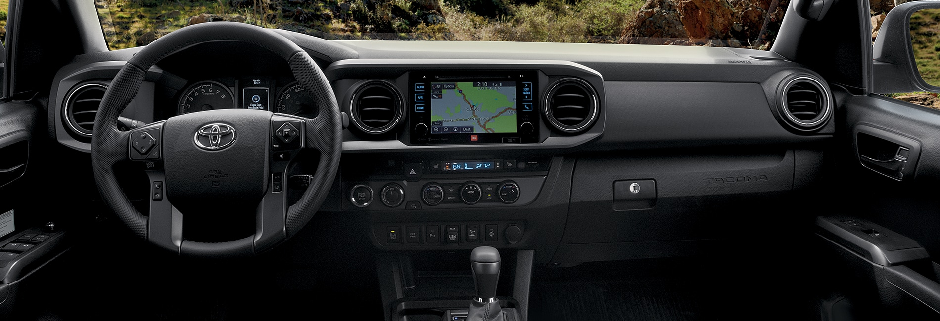 Toyota Tacoma Interior Vehicle Features