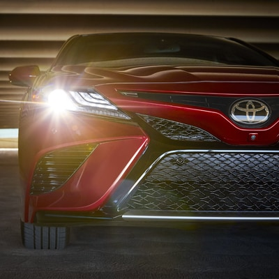 Toyota Camry Grill and Headlights