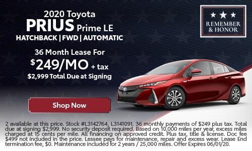 New 2020 Toyota Prius Prime