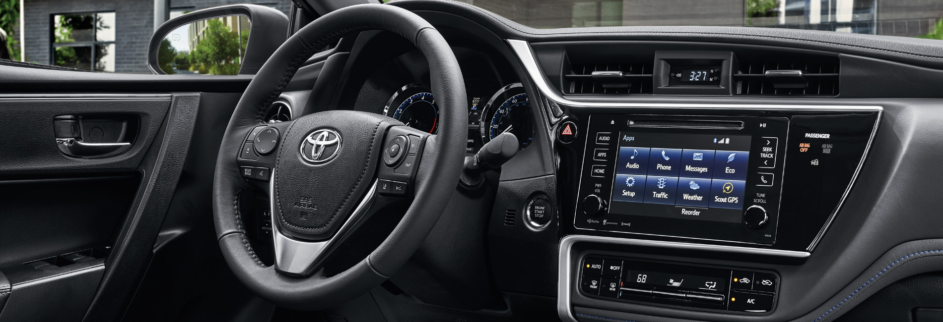 Toyota Corolla Interior Vehicle Features
