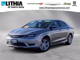 Certified Pre-Owned 2016 Chrysler 200 Limited Sedan Santa Rosa, CA