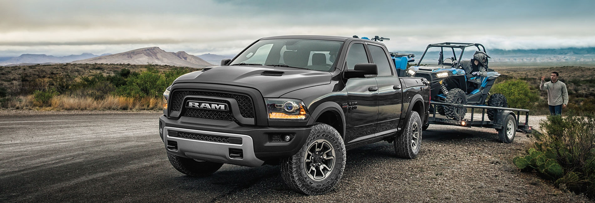 Ram 1500 Exterior Vehicle Features