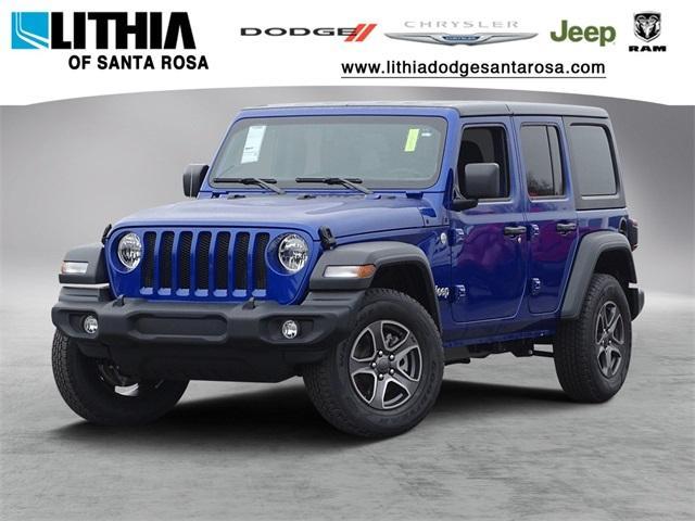 New 2018 Jeep Wrangler UNLIMITED SPORT S 4X4 Sport Utility Santa Rosa, CA