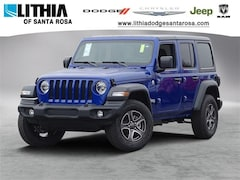 New Jeep 2018 Jeep Wrangler UNLIMITED SPORT S 4X4 Sport Utility for sale in Santa Rosa, CA