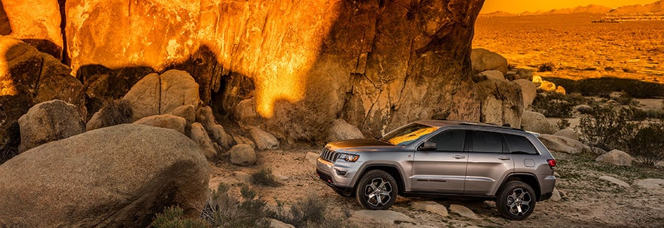 Jeep Grand Cherokee Exterior Vehicle Features