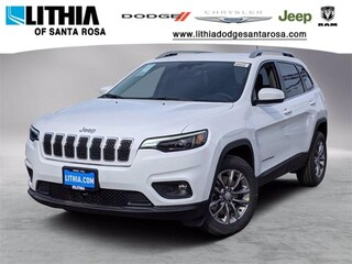 New Jeep 2021 Jeep Cherokee LATITUDE LUX FWD Sport Utility for sale in Santa Rosa, CA