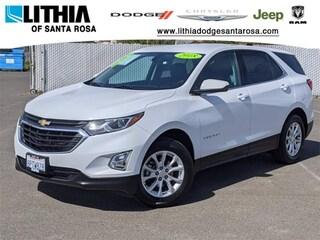 Used 2018 Chevrolet Equinox LT w/1LT SUV Santa Rosa, CA