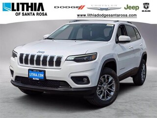 New Jeep 2021 Jeep Cherokee LATITUDE LUX 4X4 Sport Utility for sale in Santa Rosa, CA
