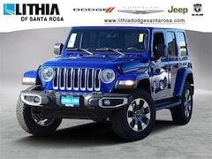 New Jeep 2018 Jeep Wrangler UNLIMITED SAHARA 4X4 Sport Utility for sale in Santa Rosa, CA