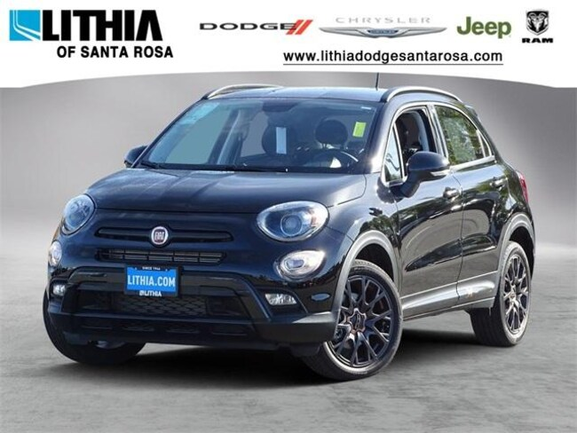 New 2018 FIAT 500X URBANA EDITION FWD Sport Utility Santa Rosa, CA