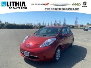 Used 2013 Nissan LEAF S Hatchback Santa Rosa, CA
