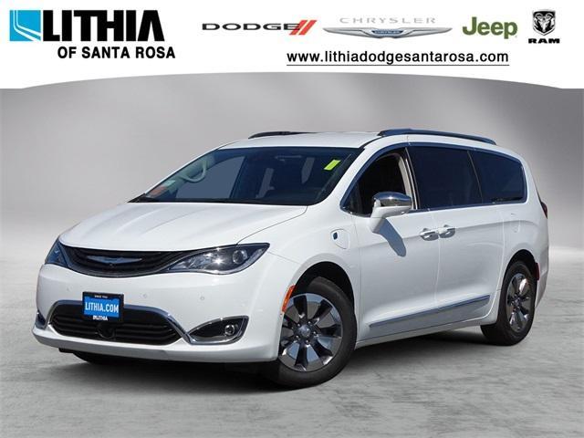New 2018 Chrysler Pacifica Hybrid LIMITED Passenger Van Santa Rosa, CA
