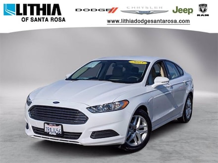 Used 2015 Ford Fusion SE Sedan Santa Rosa, CA