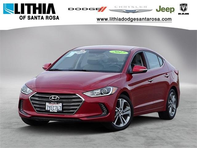 Used 2017 Hyundai Elantra Limited w/PZEV Sedan Santa Rosa, CA