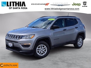 Certified Pre-Owned 2018 Jeep Compass Sport 4x4 SUV Santa Rosa, CA
